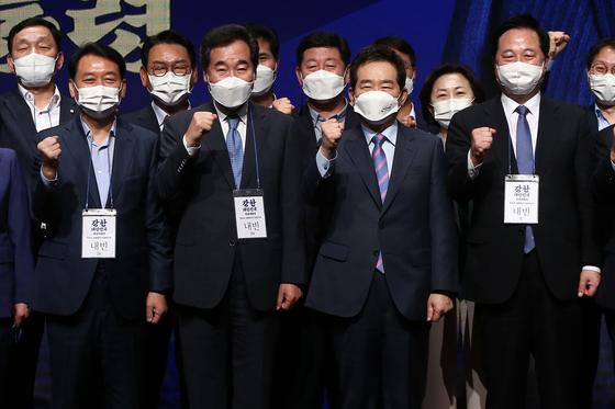 反이재명 전략적 제휴 시작…걸음 맞추는 '경선 연기파' 이낙연·정세균·이광재