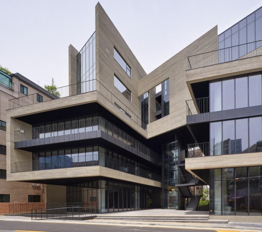 가수 비가 매각한 서울 청담동 건물 모습. 사진 한국건축문화대상 홈페이지