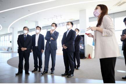 인천경제자유구역청, 송도 바이오 클러스터 주요 기업 간담회