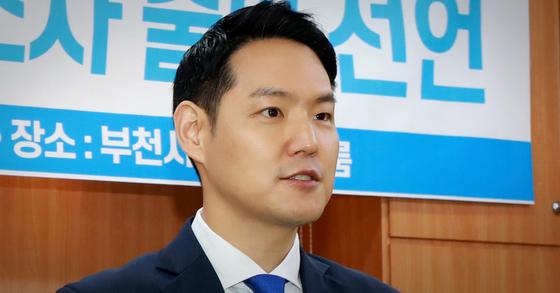 김한규 더불어민주당 법률대변인. 뉴스1