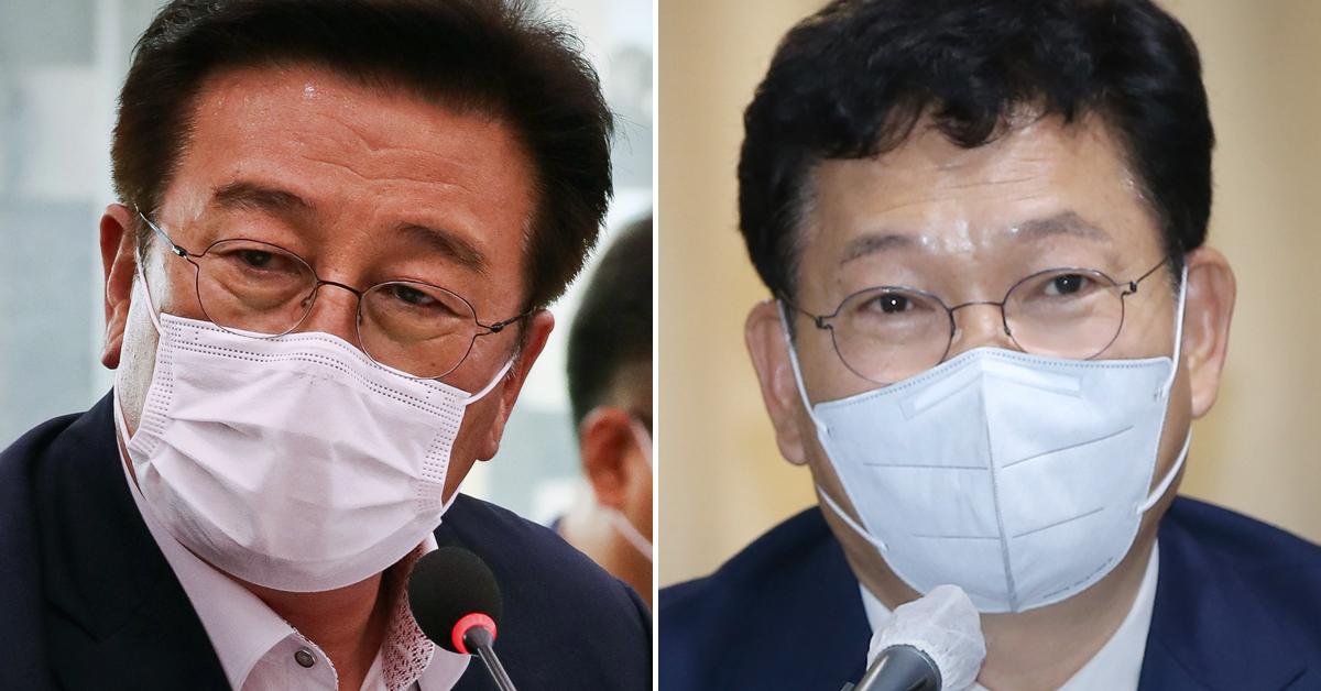 """송영길, 윤재갑 탈당계에 """"눈물났다 감동했다 잊지 않겠다"""""""