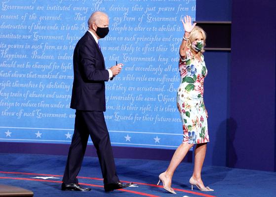 조 바이든 미국 대통령과 부인인 질 바이든 여사. 로이터=연합뉴스