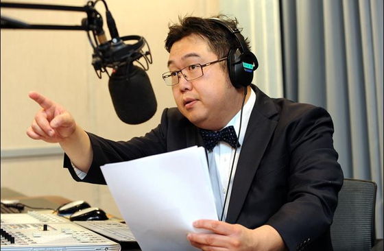 '나꼼수' 멤버 출신 김용민씨. [사진=SBS]
