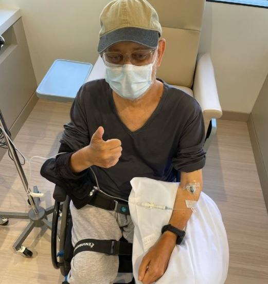 미국 드라마 '프렌즈'에 출연한 배우 제임스 마이클 타일러 인스타그램 캡처.