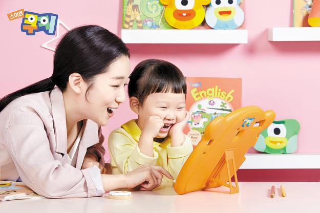 온라인 학습 시장 성장에 맞춰 웅진씽크빅이 선보인 스마트쿠키. [사진 웅진씽크빅]