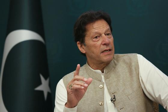 임란 칸 파키스탄 총리. 로이터=연합뉴스