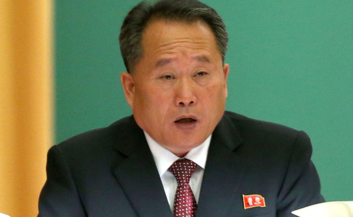 이선권 북한 외무상. 평양사진공동취재단
