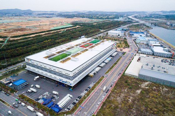 인천광역시 서구에 소재한 쿠팡메가물류센터. [사진 쿠팡]
