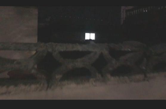 집 주인 몰래 누군가 살고 있는 진해 한 주택. 위성욱 기자