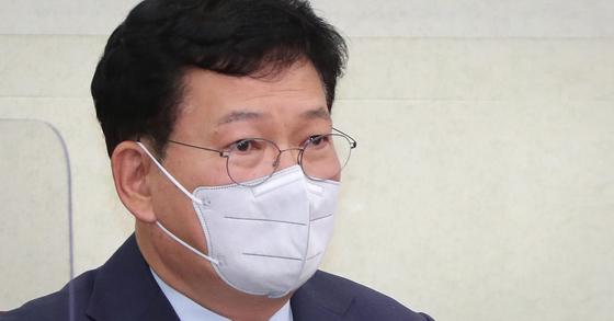 송영길 더불어민주당 대표. 뉴스1