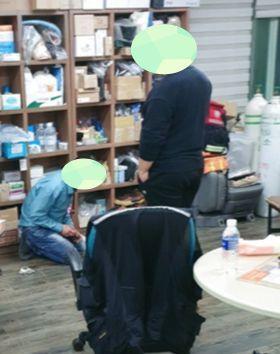 응급구조사가 사망하기 한달 전 쯤 단장으로부터 폭행을 당하는 모습. JTBC