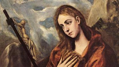 그리스 출신이지만 스페인에서 주로 활동했던 화가 엘 그레코의 작품 '막달라 마리아'.