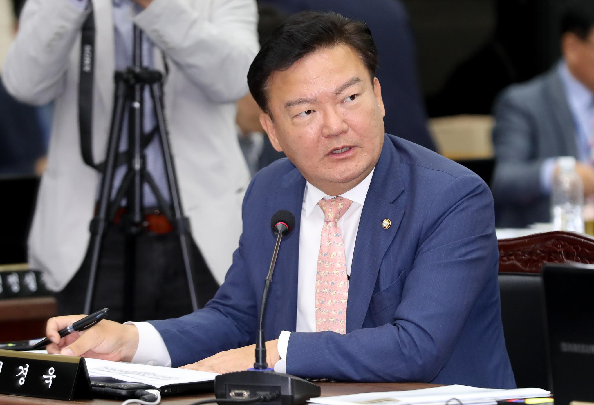 민경욱 미래통합당(국민의힘 전신) 전 의원. 뉴시스