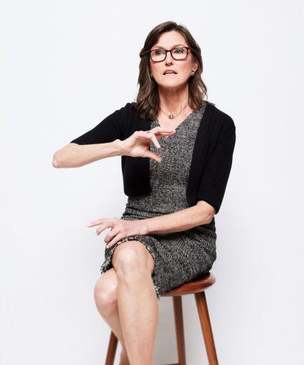 Cassie Wood, CEO of ARK Invest. [아크인베스트 홈페이지 캡처]