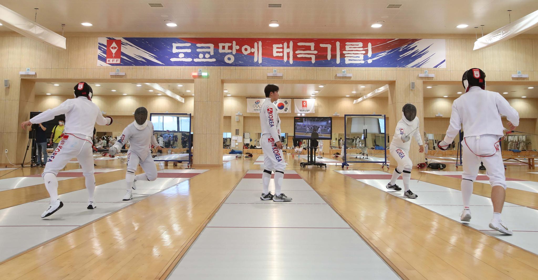 [이 시각]도쿄올림픽까지 D-25일, 국가대표 미디어데이 행사 열려