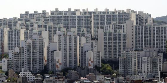서울 아파트 단지의 모습. [뉴시스]