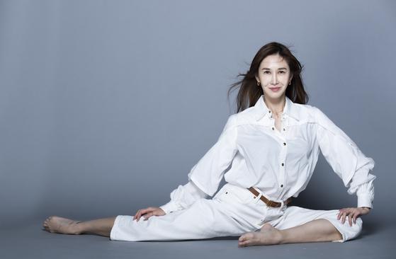 JTBC '해방타운'에 출연 중인 국립발레단 출신 유튜브 크리에이터 및 사업가 윤혜진씨. 윤씨의 가정생활을 꾸밈없이 보여주는 유튜브 채널은 구독자가 14만8000명이다. 권혁재 사진전문기자