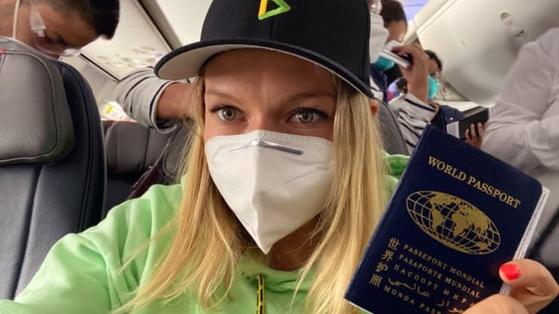 플랜B 패스포트(Plan B Passports) 설립자인 러시아계 미국 이민자 케이티 애나니나.[CNBC 캡처]