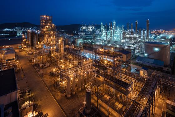 대림산업 여수 석유화학 단지. 중앙포토