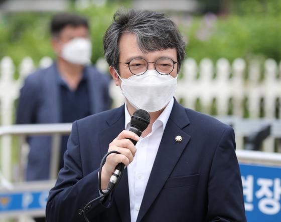 열린민주당 김의겸 의원. 연합뉴스