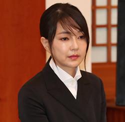 윤석열 전 총장의 아내 김건희씨