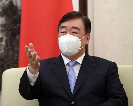 싱하이밍 주한 중국대사. 뉴스1