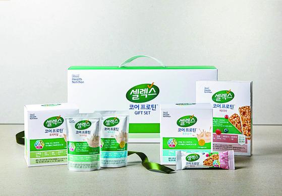 매일유업 단백질 식품 브랜드 '셀렉스' 제품 라인업. [사진 매일유업]