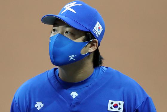 도쿄올림픽 야구대표팀 강백호. [연합뉴스]