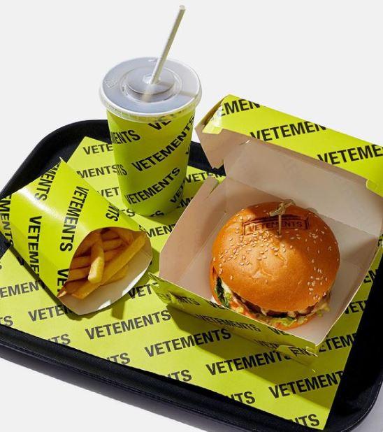 프랑스의 신명품으로 불리는 베트멍은 한국을 기점으로 전세계에 비건 버거를 출시할 계획이다. 사진 인스타그램