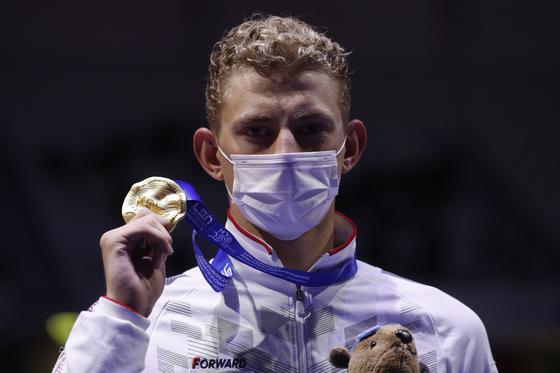 코로나19에 감염돼 도쿄올림픽 출전이 좌절된 보로딘. [AP=연합뉴스]