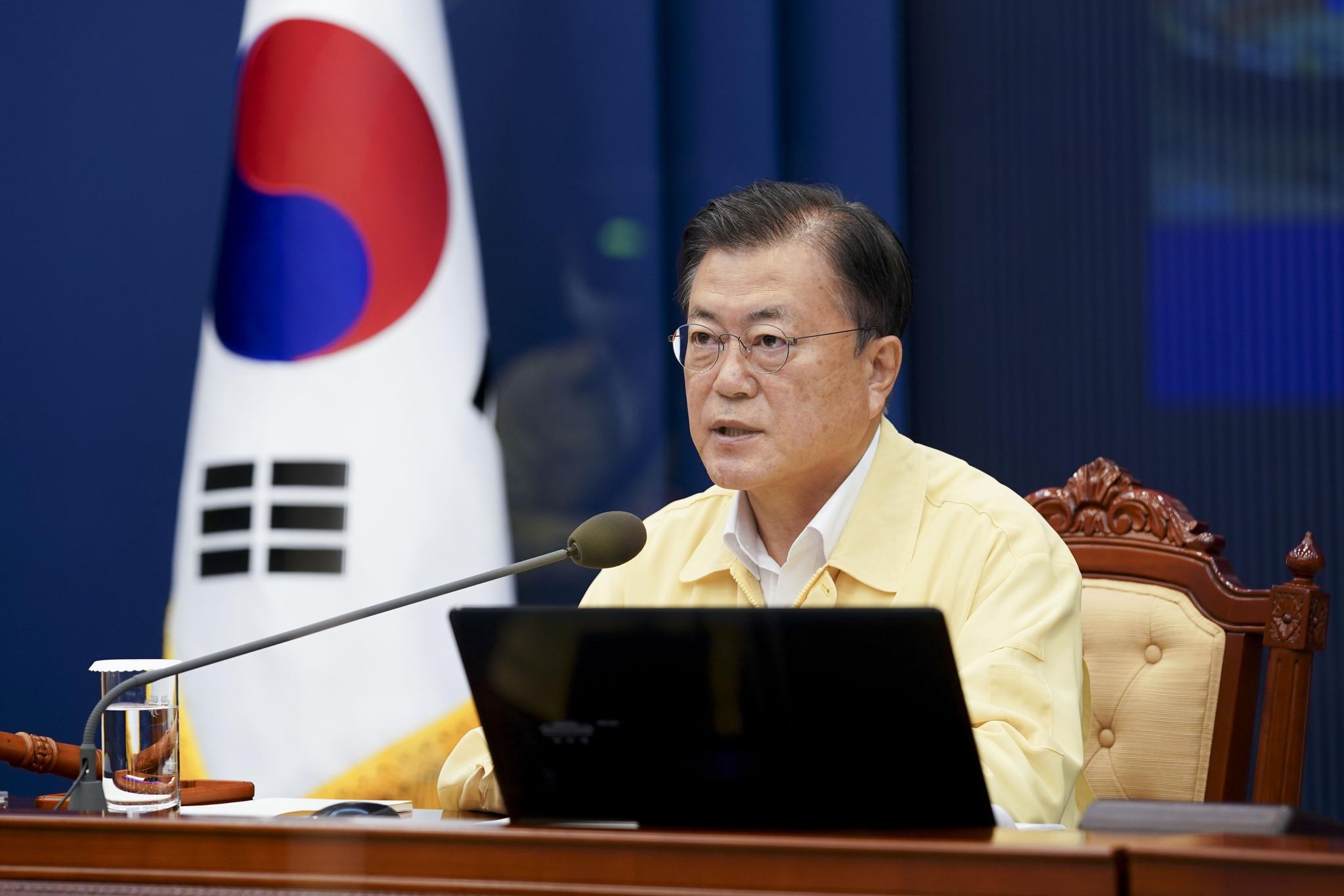 [속보] 문 대통령, 폭우피해 전남 장흥 등 특별재난지역 선포
