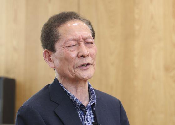 2020년 6월 17일 '함바왕' 유상봉(74)씨. 임현동 기자