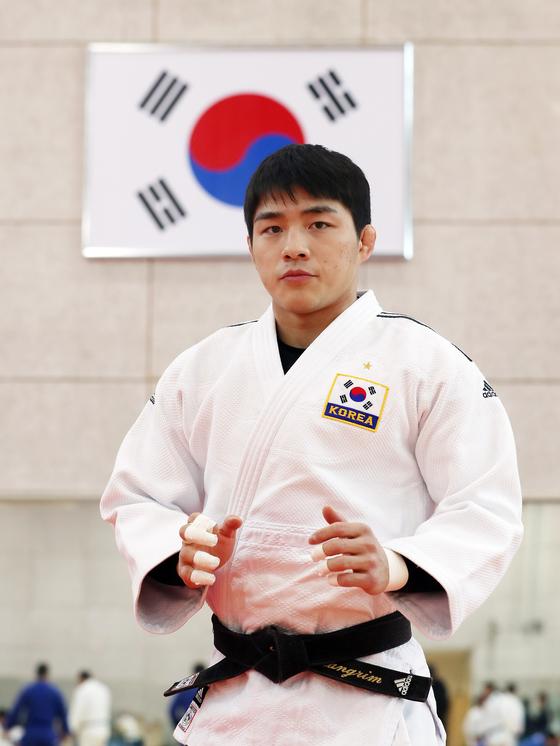 도쿄올림픽 앞둔 유도 국가대표 안창림. 변선구 기자