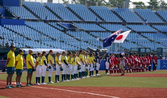 도쿄올림픽 첫 경기 시작