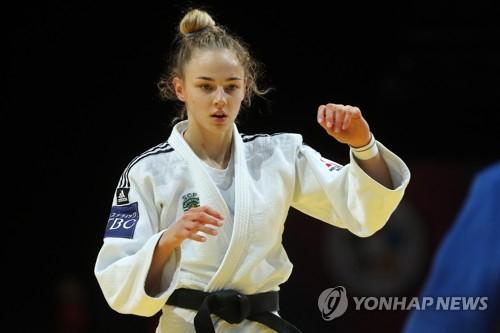 다리아 빌로디드의 경기 장면. 사진=연합뉴스
