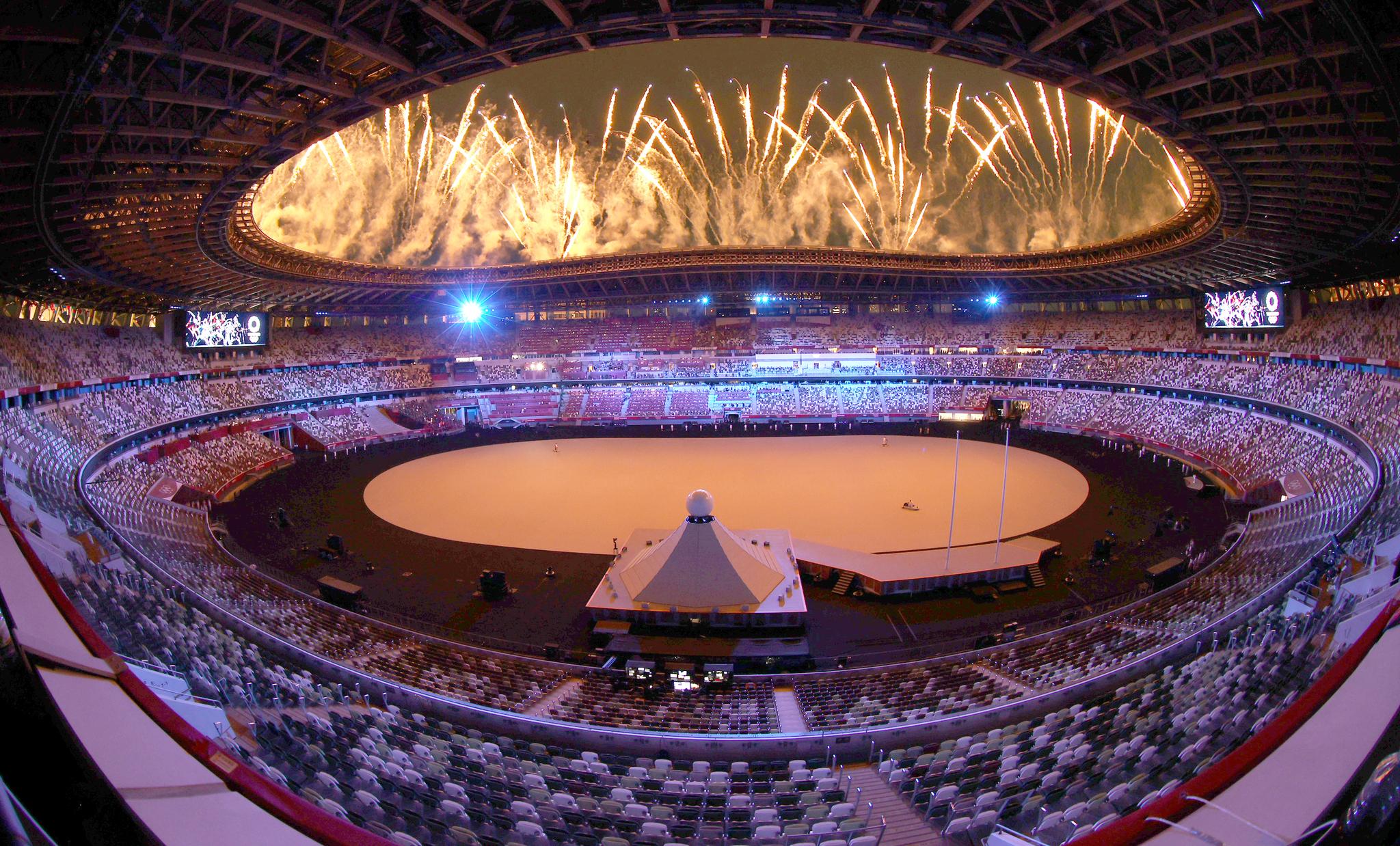 [이 시각] 코로나19 대유행, 무관중으로 열린 2020 도쿄올림픽 개회식