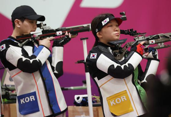 [속보] 박희문·권은지, 도쿄올림픽 여자 10m 공기소총 결선 진출