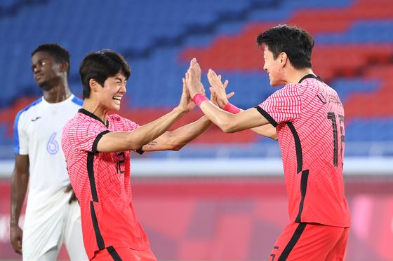 [속보] 김학범호, 온두라스에 6-0 대승…B조 1위로 8강 진출