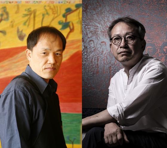 전통 한국화를 재창조하는 두 작가 김선두와 서용