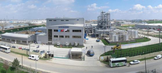 A view of Hyosung TNC's spandex plant in Turkey. [사진 효성그룹]