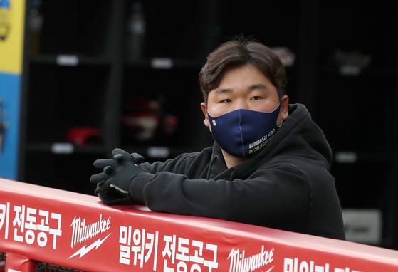 야구 대표팀 25번째 선수, 해병대 1162기 권누리