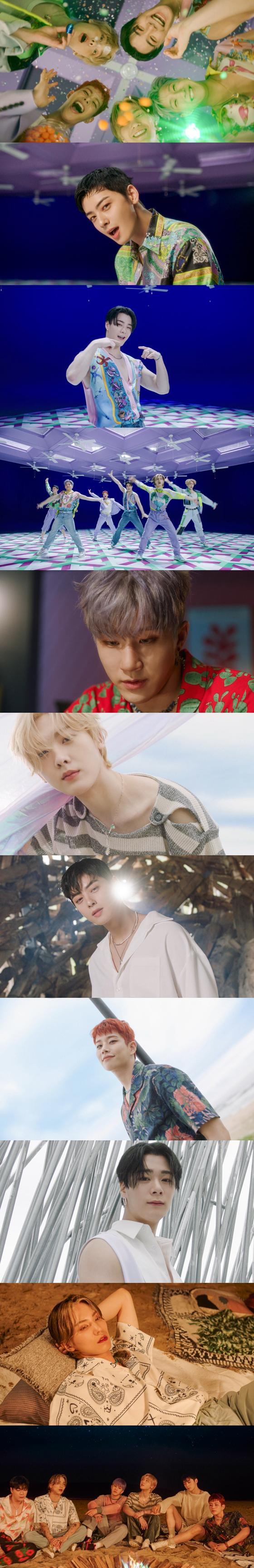 아스트로 '애프터 미드나잇' 뮤직비디오 캡처 화면