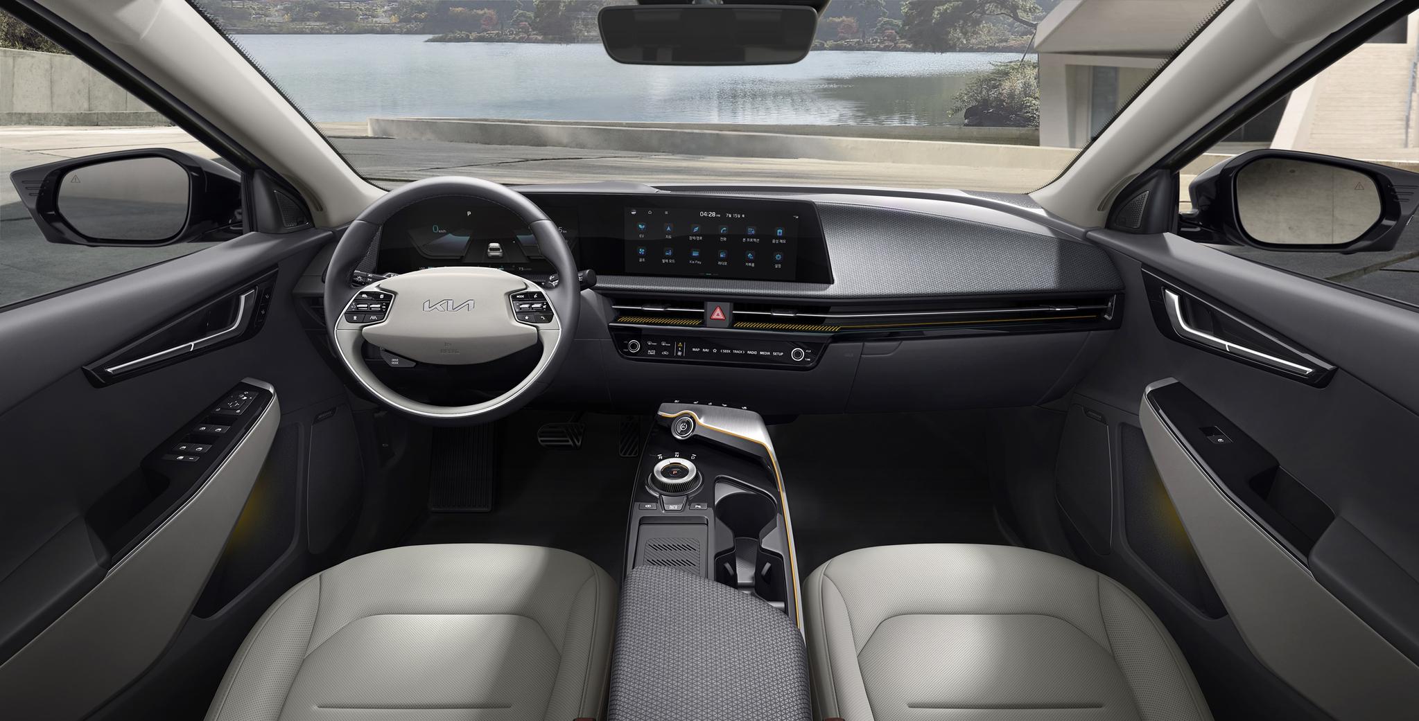 2일 기아가 첫 전용 전기차 EV6 출시했다. 사진 기아