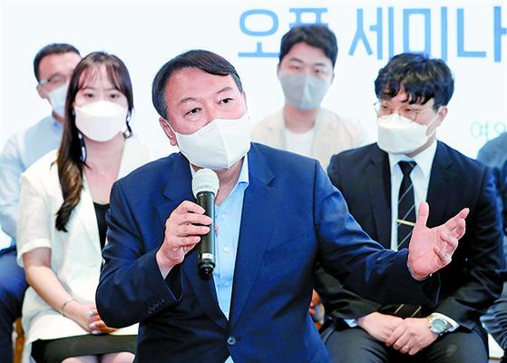 윤석열, 국민의힘 입당 다음날 김종인·금태섭 연쇄 회동