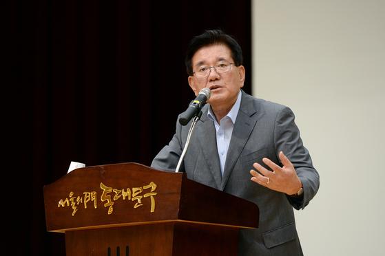 유덕열 동대문구청장. 연합뉴스