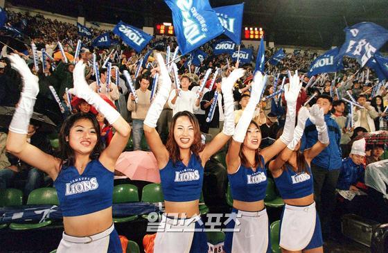 2001년 삼성 치어리더 /IS포토