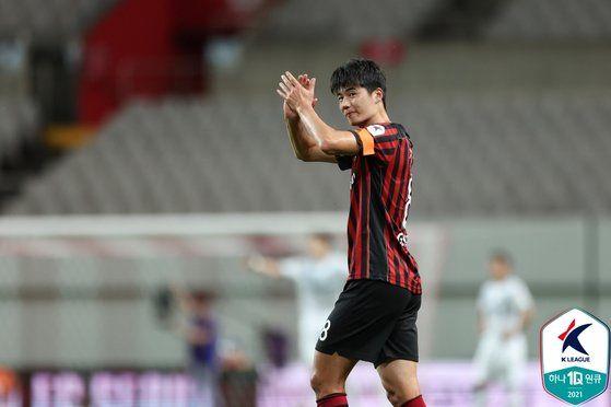 FC 서울 기성용. [사진 한국프로축구연맹]