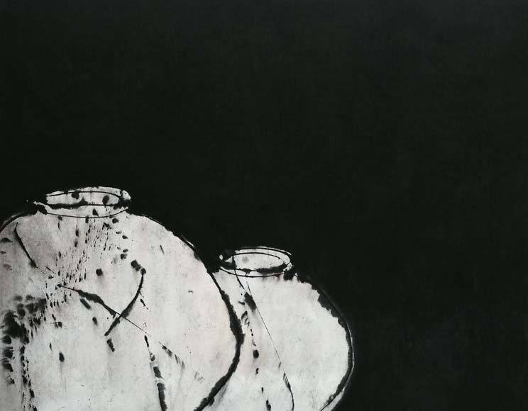 '월인천강 3319'(2016), 한지에 먹, 285 x 200 cm