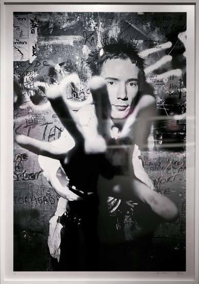 '펑크 인 브리튼' 사진전 작품들.