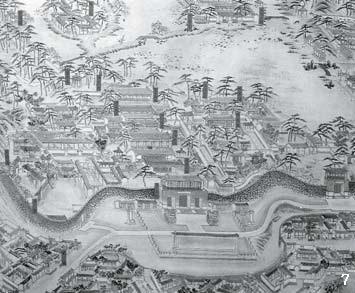 7 18세기 후반 '피서산장'의 실경도.